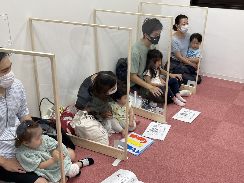 幼児教室ヘーグルお茶の水校授業風景