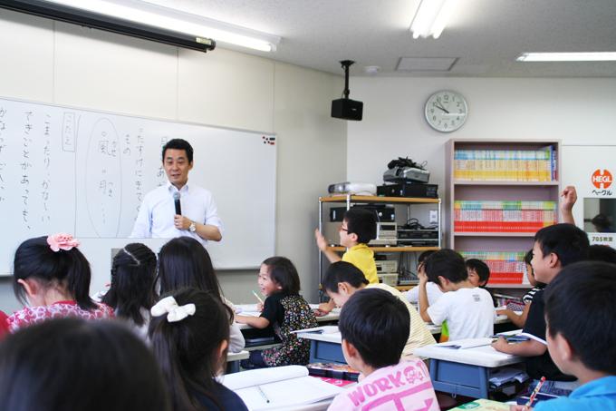 Pre-MEPⅡ 国語の授業