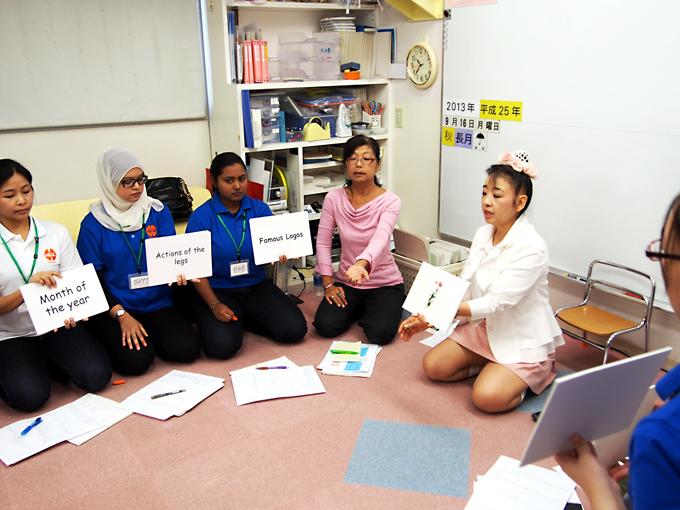 マレーシア、シンガポール、タイ、中国、4か国合同研修