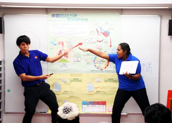 マレーシア、シンガポール、タイ、中国、4か国合同研修18