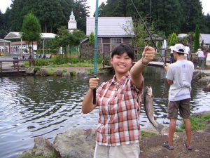 中学入学頃の奈津未さん