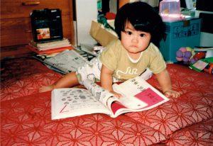 幼少期の絵音読み