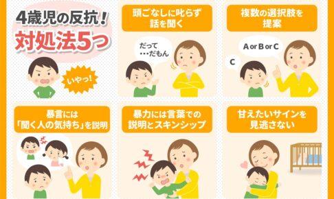 4歳児の反抗に対する5つの対処法